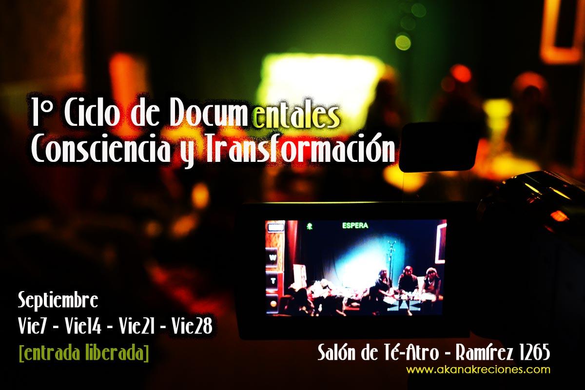 1° Ciclo de Documentales: Consciencia y Transformación – Iquique