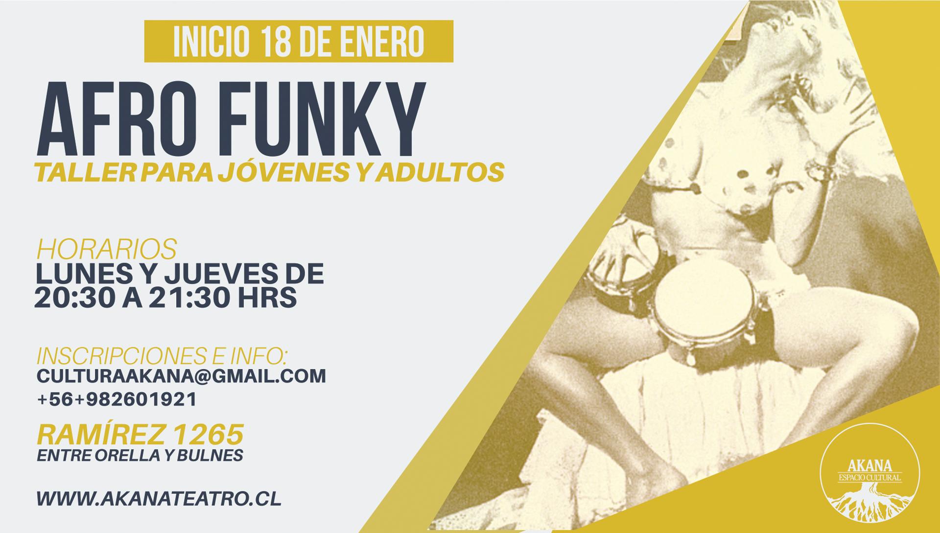 Taller de Afro Funky – 2016