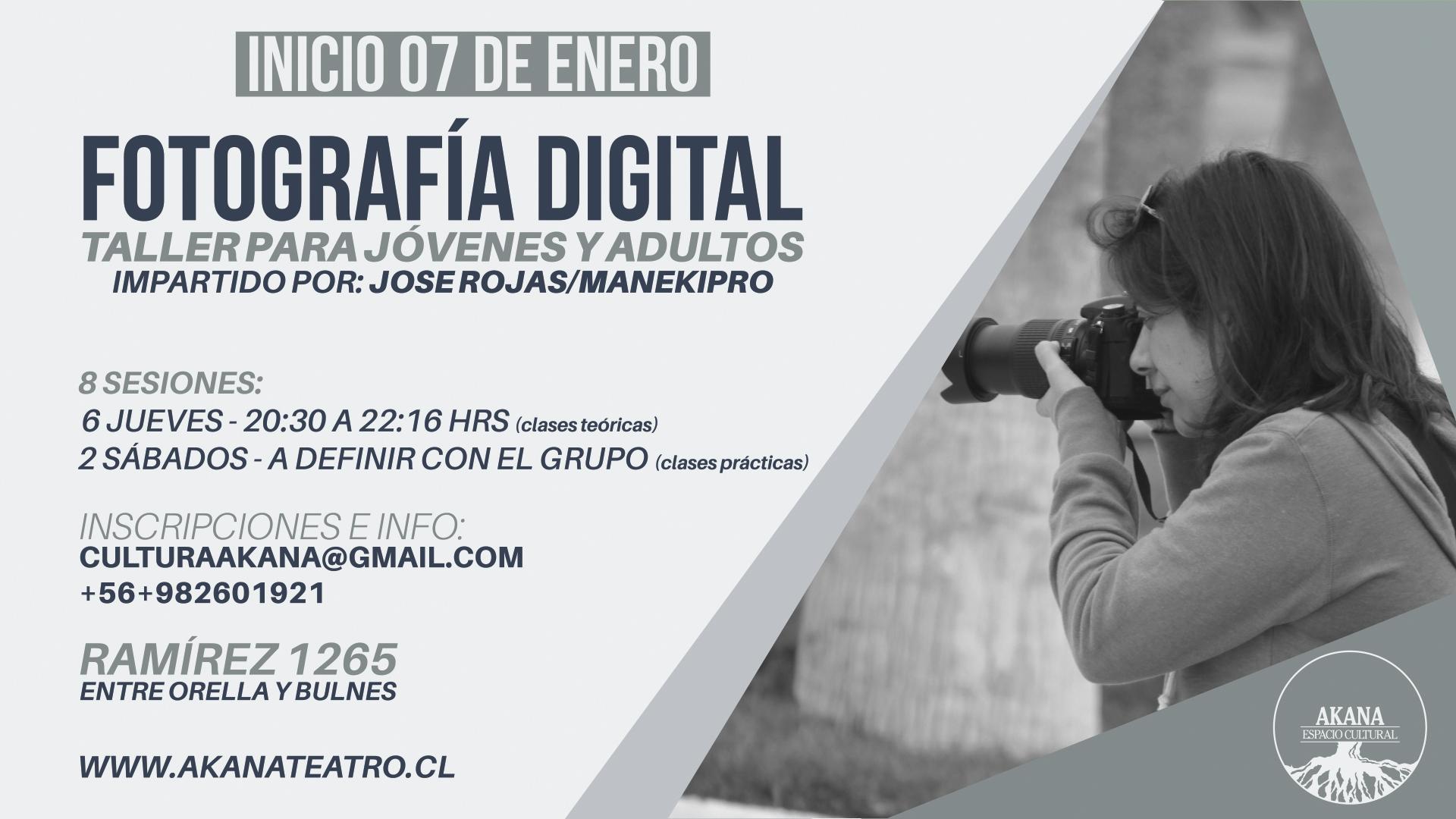 Taller de FOTOGRAFÍA – 2016 Iquique