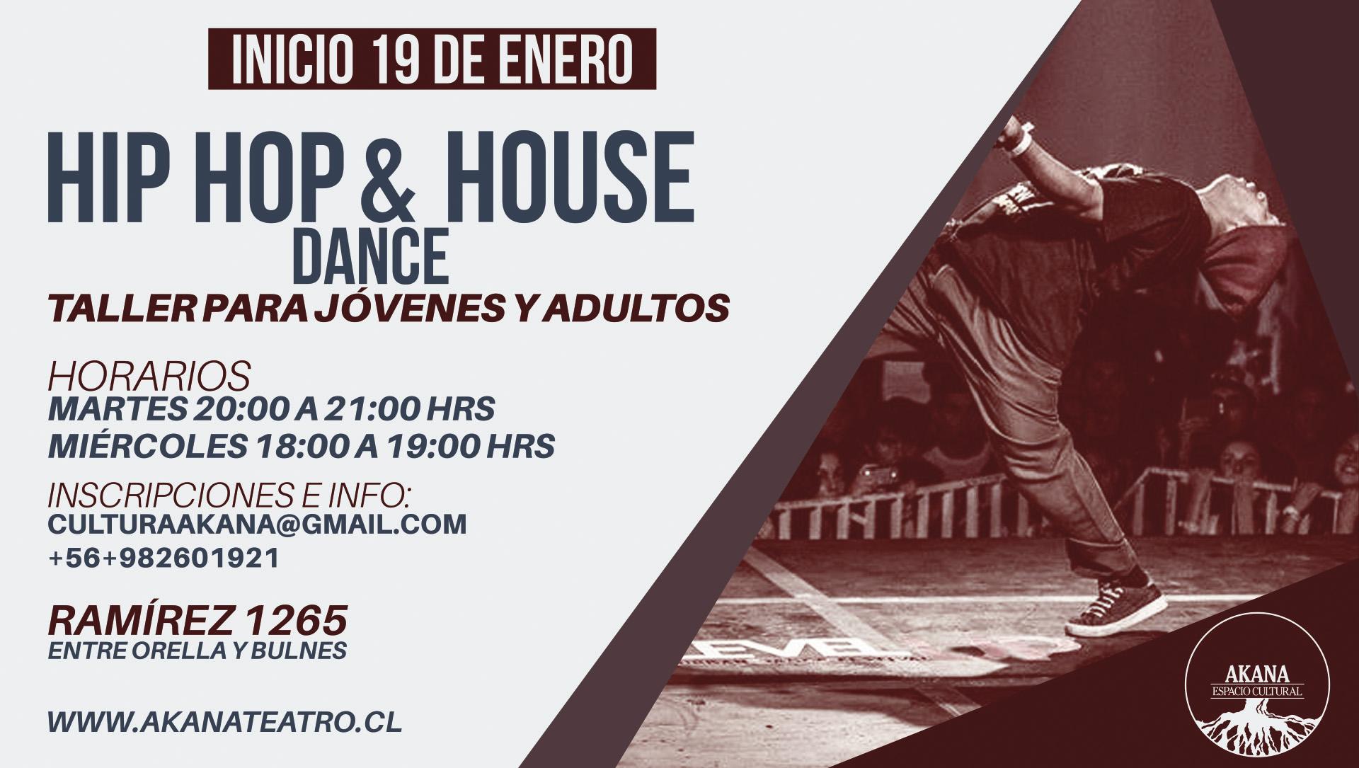 Taller de Hip Hop & House – 2016
